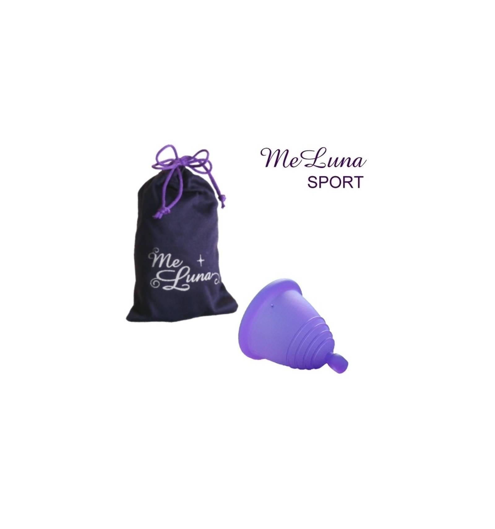 Copa menstrual MeLuna Shorty, Violeta, Sport, Bola
