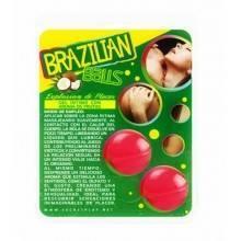 Brazilian Balls - Lubricante con sabor a Fresas