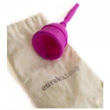 Copa menstrual Eureka y su bolsita